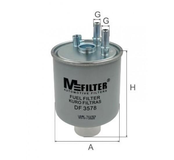 DF 3578  Фільтр для фільтрування палива у ДВЗ