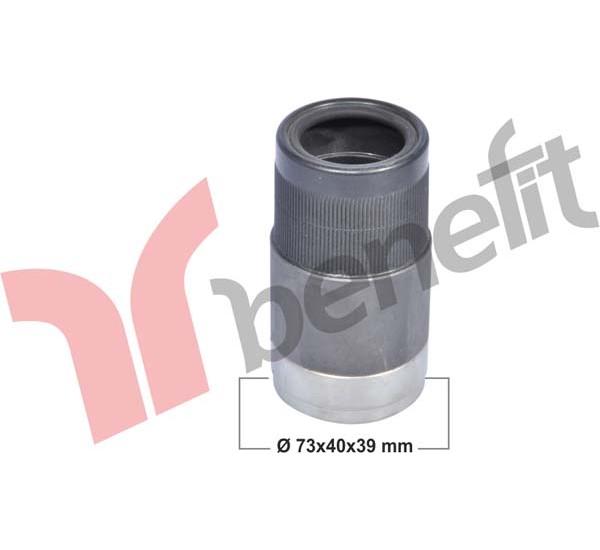 Knorr 1009 Втулка супорту висока 39 мм. BPW 0214102100, SB6-SB7, K0092 (В-о BENEFIT)