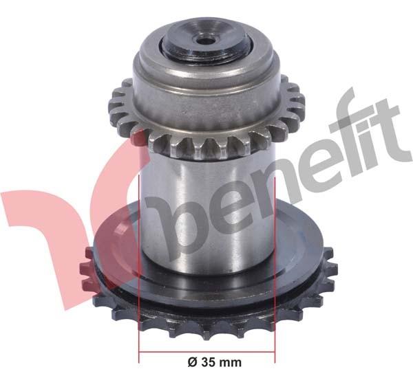 Meritor 3507 Механізм калібрувальний d= 35 mm лівий ELSA 1, 081020161 ( В-во BENEFIT)