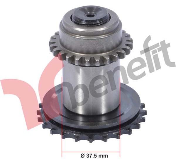 Meritor 3510 Механізм калібрувальний d= 37.5 mm правий M0169 ELSA 1, 081020166 ( В-во BENEFIT)