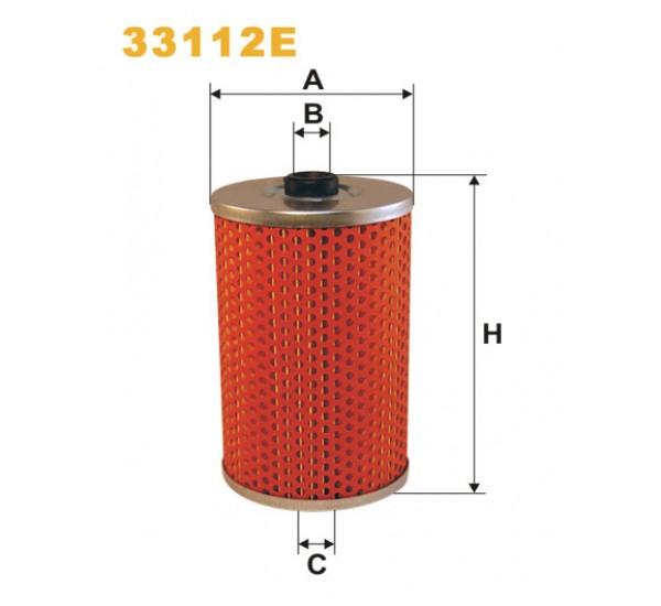 Фільтр палив. MAN (ви-во WIX-Filtron UA) 33112E/PM808