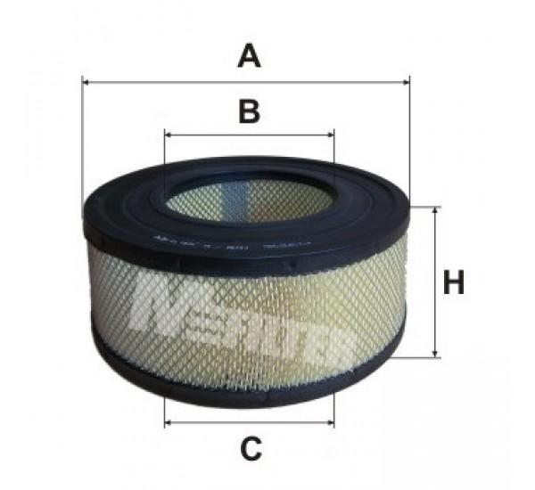 A 8041 Фільтр забору повітря для ДВЗ