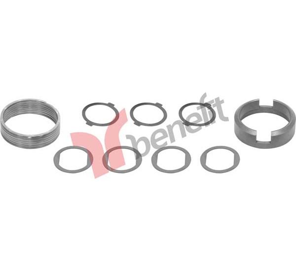 Meritor 3586 Комплект регулюючих кілець (лівий) M0060 ( В-во BENEFIT)