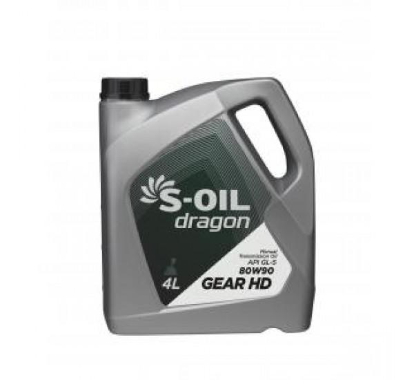 DRAGON GEAR HD 80W90 Олива трансмісійна напівсинтетична 4л.