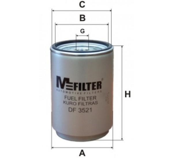 DF 3521 Фільтр для фільтрування палива у ДВЗ