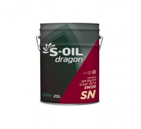 DRAGON SN 5W20 Олива моторна напівсинтетична 20л.