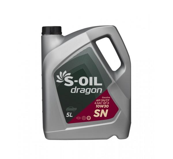 DRAGON SN 10W30 Олива моторна напівсинтетична 5л.