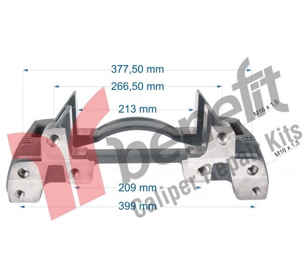 Knorr 10500 Утримувач супорта BPW SK7