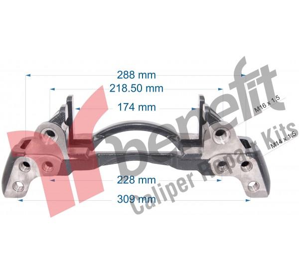 Knorr 10501 Утримувач супорта Man 12-180 SN5