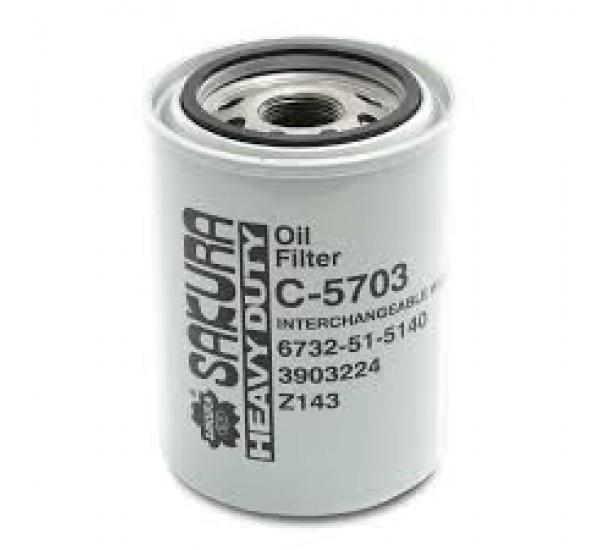 Фільтр масляний Sacura C5703