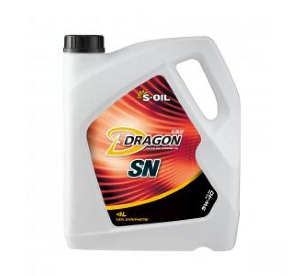 DRAGON SN 5W40 Олива моторна синтетична 4л.