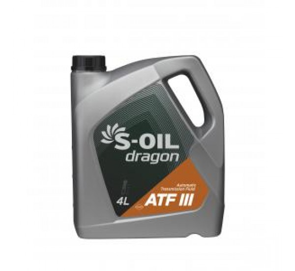 DRAGON ATF III Олива трансмісійна напівсинтетична 4л.