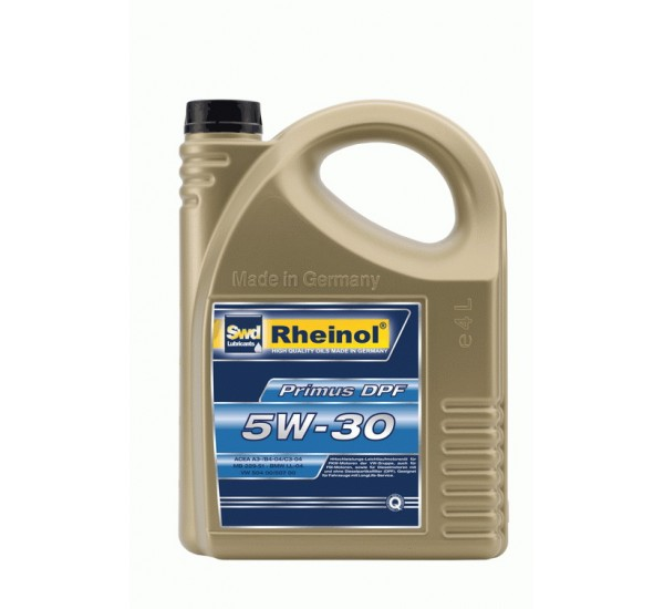 Rheinol Primus  DPF  5W-30 синтетична, універсальна 4L