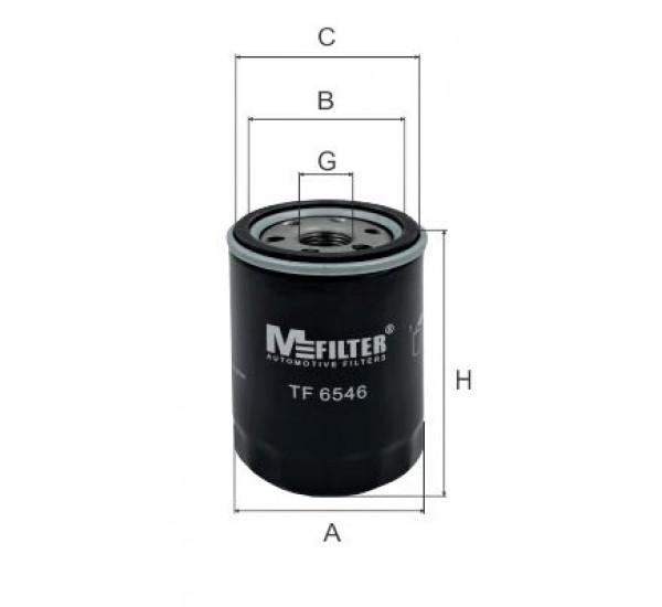 TF 6546 Фільтр для фільтрування мастил у ДВЗ