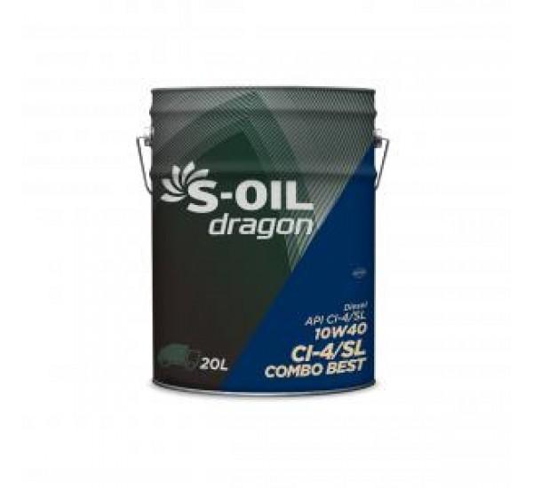 DRAGON COMBO BEST 10W40/20 Олива моторна напівсинтетична 20л.