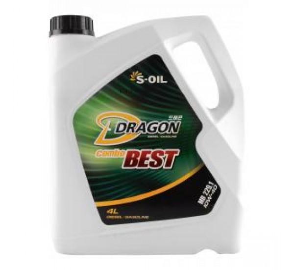 DRAGON COMBO  BEST 10W40/4  Олива моторна напівсинтетична 4л.
