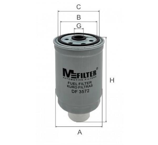DF 3572  Фільтр для фільтрування палива у ДВЗ