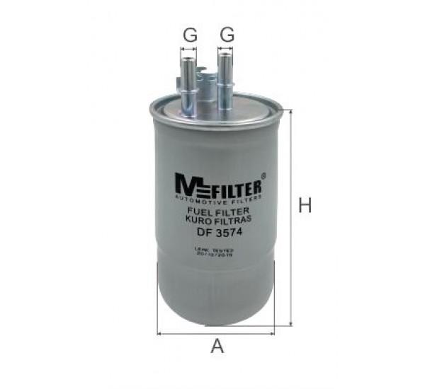 DF 3574  Фільтр для фільтрування палива у ДВЗ