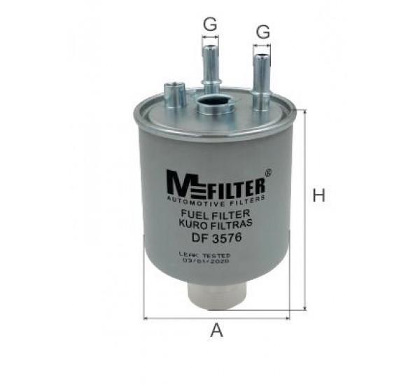 DF 3576  Фільтр для фільтрування палива у ДВЗ
