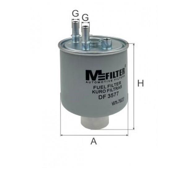 DF 3577  Фільтр для фільтрування палива у ДВЗ