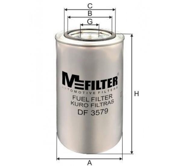 DF 3579 Фільтр для фільтрування палива у ДВЗ