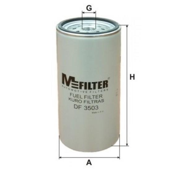 DF 3503 Фільтр для фільтрування палива у ДВЗ