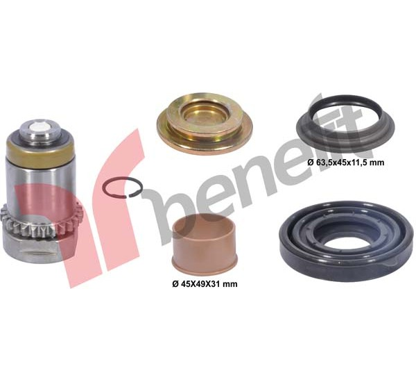 Meritor 3536 РМК регулюючого механізму лівий, DUCO M0134 (В-о BENEFIT)