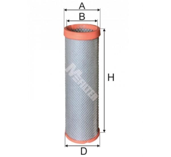 A 1608 Фільтр забору повітря для ДВЗ