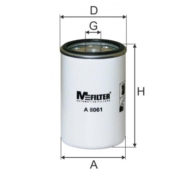 A 8061 Фільтр забору повітря для ДВЗ