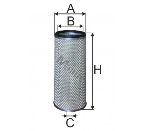 A 8074/1 Фільтр забору повітря для ДВЗ