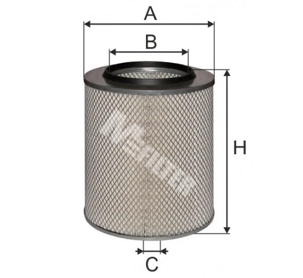 A 8077 Фільтр забору повітря для ДВЗ
