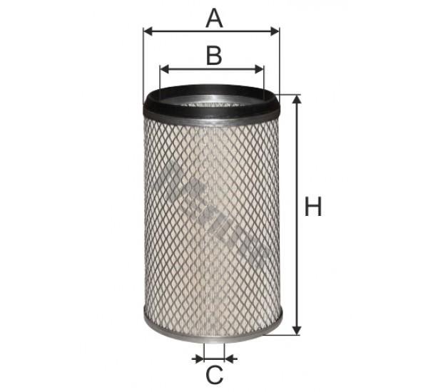 A 8077/1 Фільтр забору повітря для ДВЗ