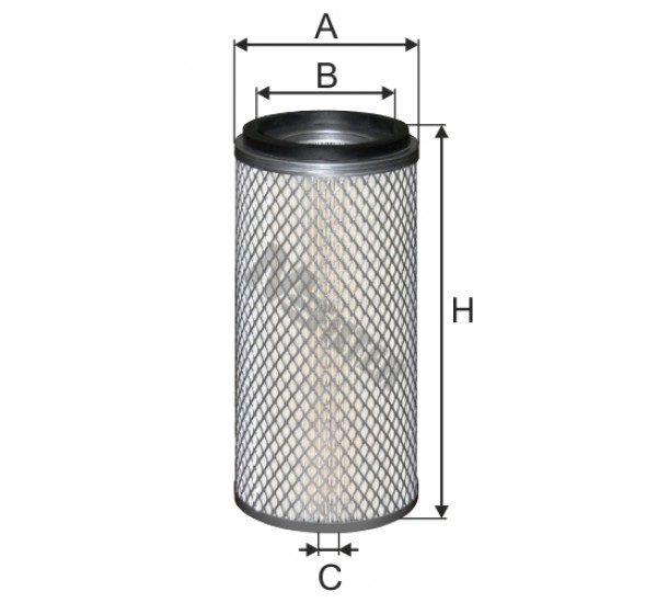 A 8079 Фільтр забору повітря для ДВЗ