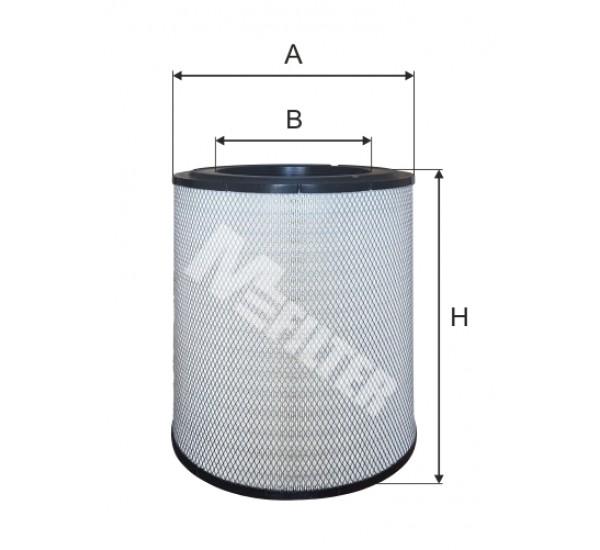 A 8098 Фільтр забору повітря для ДВЗ