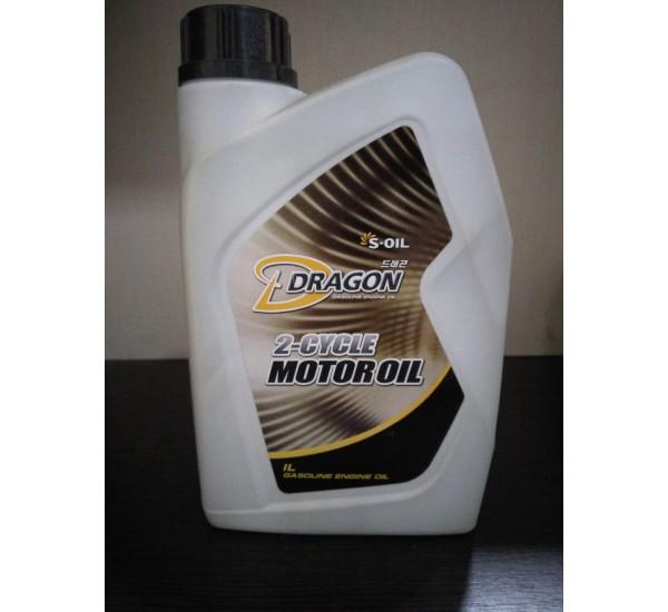 DRAGON 2T MOTOR OIL 10W40 Олива моторна напівсинтетична 1л.