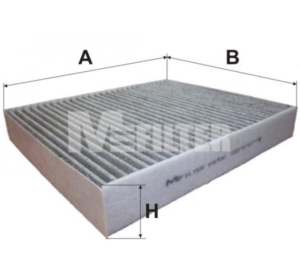 K 970C Фільтр салона вугільний