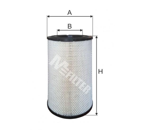 A 854 Фільтр забору повітря для ДВЗ