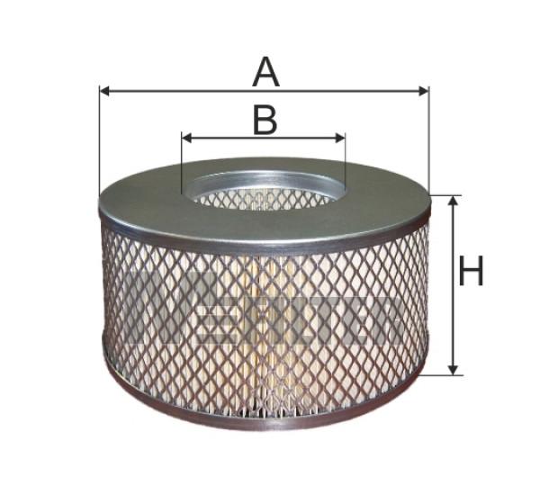A 8065 Фільтр забору повітря для ДВЗ