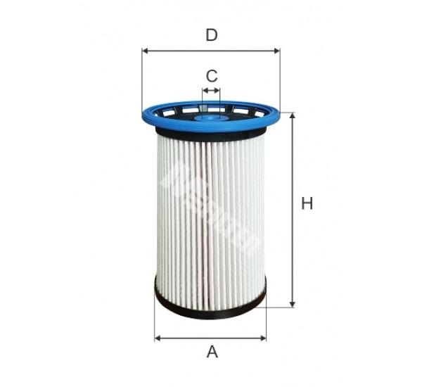 DE 3141 Фільтр для фільтрування палива у ДВЗ