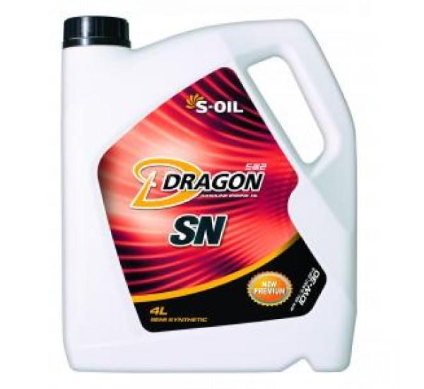 DRAGON SN 10W30  Олива моторна напівсинтетична 4л.