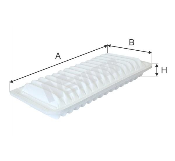 K 7108 Фільтр забору повітря для ДВЗ