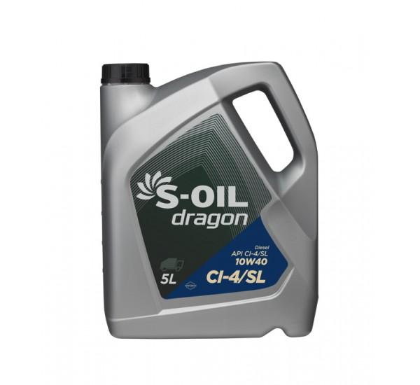DRAGON CI-4/SL 10W40 Олива моторна напівсинтетична 5л