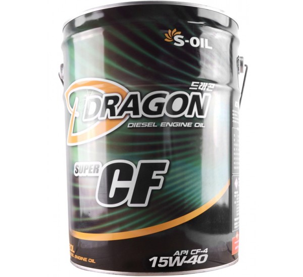 DRAGON CF-4/SG 15W40  Олива моторна напівсинтетична 20л.