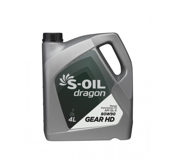 DRAGON GEAR HD 75W90 трансмиссионная синтетика 4л