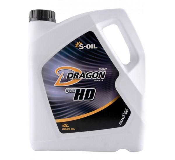 DRAGON GEAR HD 85W140 Олива трансмісійна напівсинтетична 4л.