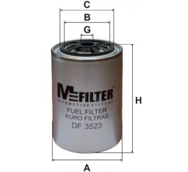 DF 3523 Фільтр для фільтрування палива у ДВЗ