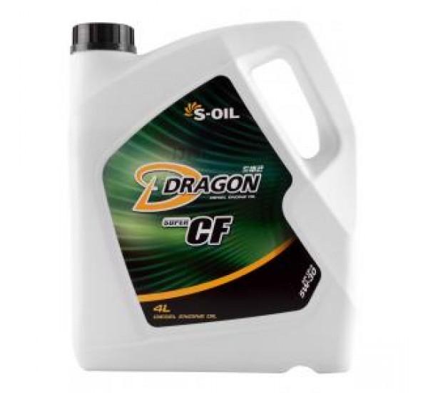 DRAGON CF-4/SG 5W30  Олива моторна напівсинтетична 4л.
