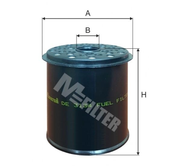 DE 3134 Фільтр для фільтрування палива у ДВЗ