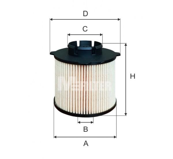 DE 3135 Фільтр для фільтрування палива у ДВЗ