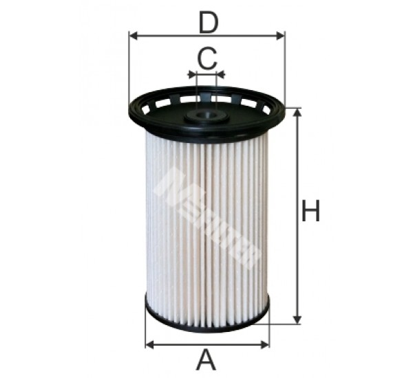 DE 3138 Фільтр для фільтрування палива у ДВЗ